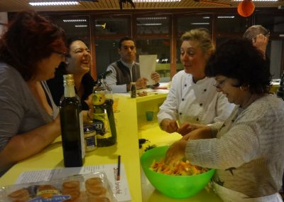 Cours de cuisine 2016